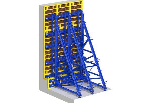 Одностороннее бетонирование