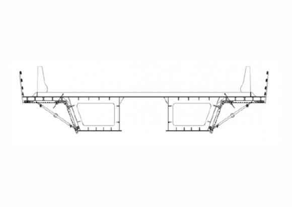 Консольная опалубка мостов