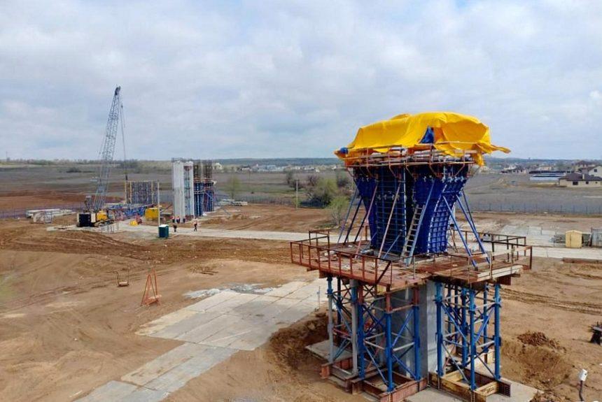 Движение по новому мосту через ВДСК запустят в 2022 году