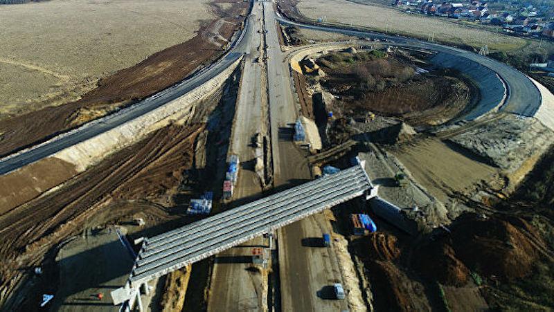 Развязка ЮВХ с Волгоградским проспектом будет достроена в 2023 году
