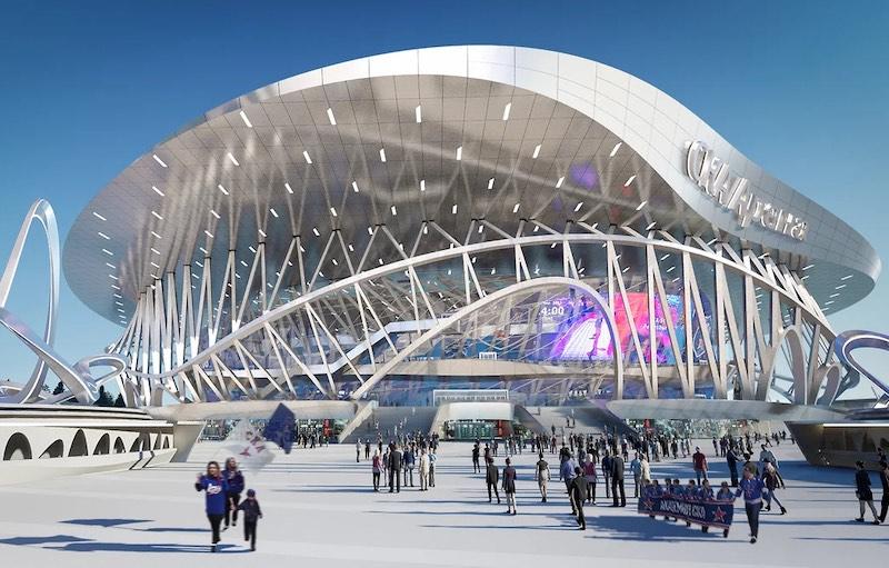 «СКА-Арену» построят по проекту австрийского бюро Coop Himmelblau