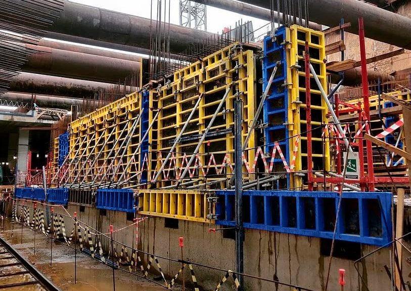 Мосгосстройнадзор проверил качество монолитных работ на строительстве станции метро «Мамыри»