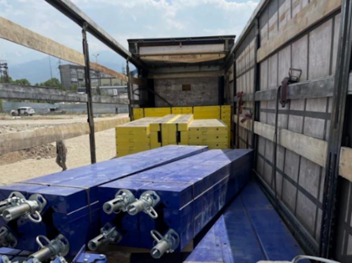 Опалубка «ГАММА» отгружена на строительство ЖК RIVIERA в Алматы